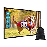 GBTIGER 150 inch Outdoor Movie Projector Screen with Bag, 150