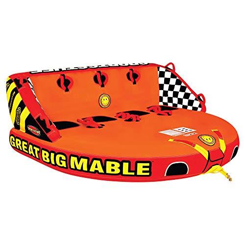 Sportsstuff Great Big Mable | 1-4 Rider Towable Tube for Boating (Big Bertha Tube)