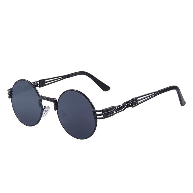 DEFJQQPL Sunglasses Steam punk gafas de sol hombres retro ...