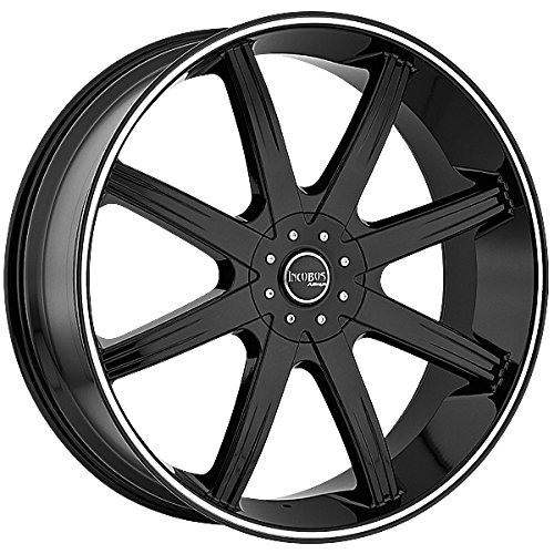 Incubus 840 Empire 20x9 5x115/5x139.7 +15mm Gloss Black Wheel Rim