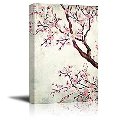 Watercolor Painting Style Cherry Blossom, Quality Creation, Pretty Picture