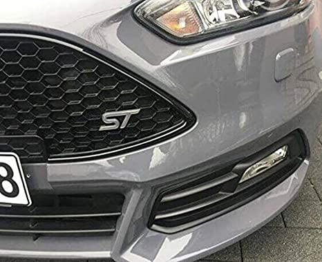 Focus st MK3 Gel-Embleme Inlay Front+Rear Free Choice of Color Yellow
