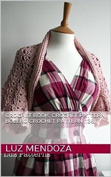 Crochet book, crochet pattern bolero crochet pattern (138) by [Mendoza