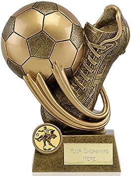 Womack Graphics Oro Envejecido de 6,5 Epic Botas de fútbol y ...