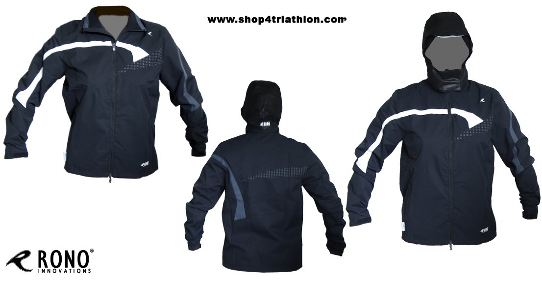 Rono Sympatex Jacket SWG - Windstopper Laufjacke (wasserabweisend)