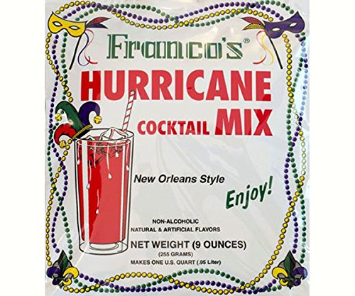 (Franco's Hurricane Cocktail Mix, 9 Ounce (Pack of 12) )