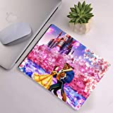 DISNEY COLLECTION Mouse Pad Rectangle Mouse Pad Belle Disney Beauty and The Beast Lovely