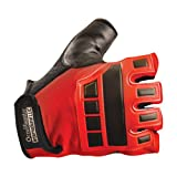 Occunomix Deluxe Vibration and Impact Protection Gloves S Red