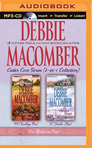 Cedar Cove Collection (Debbie Macomber – Cedar Cove Series (2-in-1 Collection): 44 Cranberry Point, 50 Harbor Street)