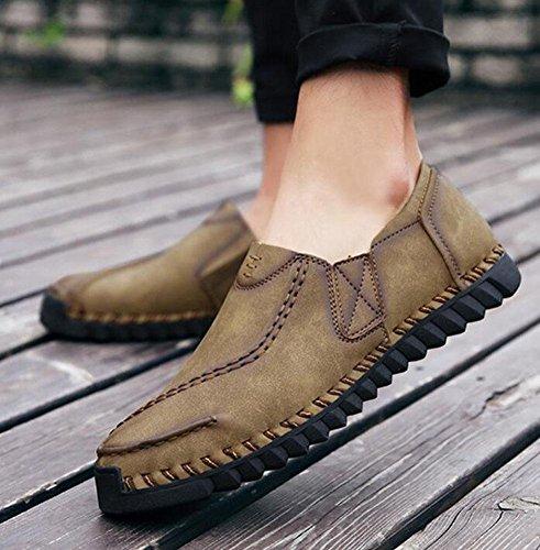 Neue Schuhe britische 39 Freizeitschuhe SHIXR Sport Jugend Fr眉hling St盲dtische M盲nner T盲gliche Schuhe khaki wilde Bootsschuhe Leben q7HHEBw