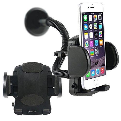 Holder Pearl - Car Mount Phone Holder for Rim BlackBerry Pearl Flip 8220 T-Mobile