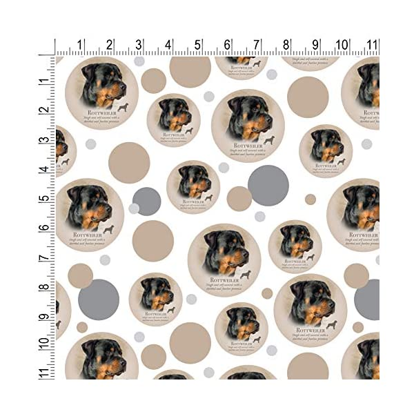 GRAPHICS & MORE Rottweiler Rottie Dog Breed Premium Gift Wrap Wrapping Paper Roll 2