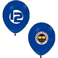 Balonevi Fenerbahçe Karışık 100 Adet 12 inch Balon