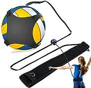 Football Kick Trainer, Adjustable Solo Practice Soccer Volleyball Trainer, Volleyball Practice Rope, Volleybal