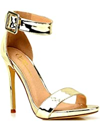 84917d241771 Women s High Heel Open Toe Ankle Buckle Strap Platform Evening Dress Casual  Daily Shoes US Seller