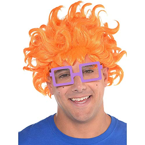 amscan Rugrats Chuckie Finster Halloween Costume Accessory Kit for Adults, One Size]()
