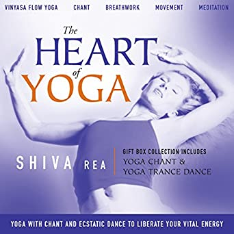 Amazon.com: The Heart of Yoga: Four Guided Classes Combine ...