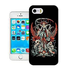 Yishucase-santemuerte-smaller The new style of durable top Hard Cover for iPhone5/5s case