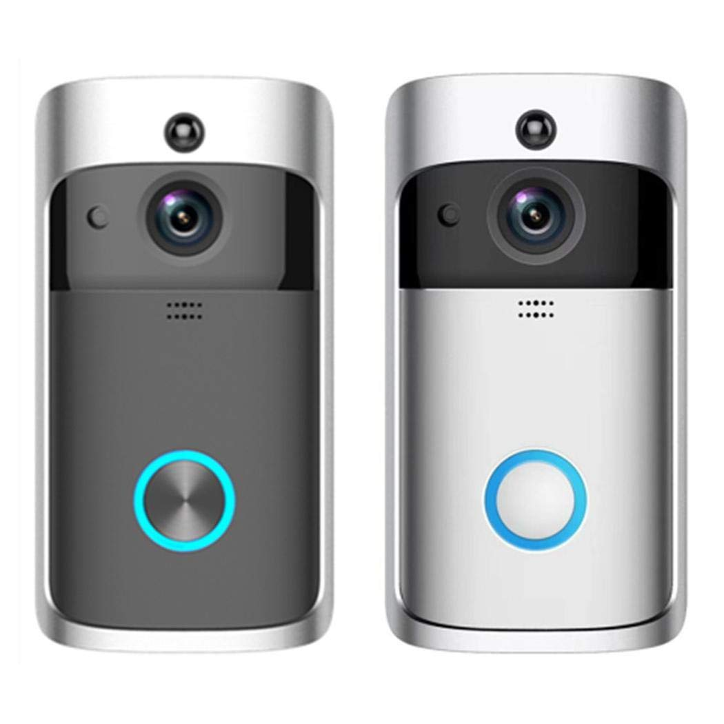 Mandii Wireless Remote Home Monitoring RIP Motion Detection Smart WiFi Video Doorbell Kits by Mandii (Image #1)