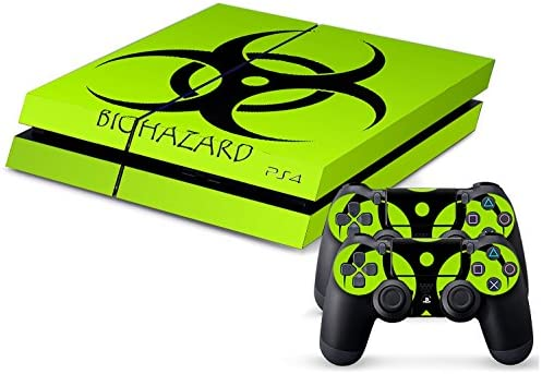 Sony PS4 Playstation 4 Skin Design Foils Pegatina Set - Biohazard Motivo: Amazon.es: Videojuegos