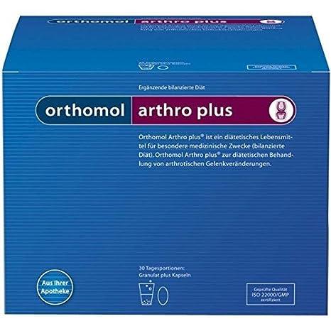 ORTHOMOL ARTHRO PLUS GRANULADO 30 Sobres: Amazon.es: Salud y cuidado personal