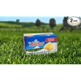 Anchor Butter New Zealand, Unsalted. Pack of 4 X 16 Oz. Packs