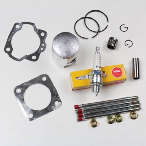 NICHE Cylinder Piston Gasket Head Top End Kit for Suzuki JR50 1978-2006
