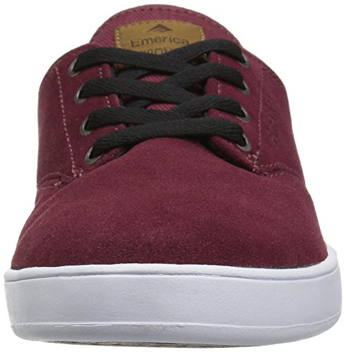 Emerica Mens La Rombo Laced Pattino Bordeaux