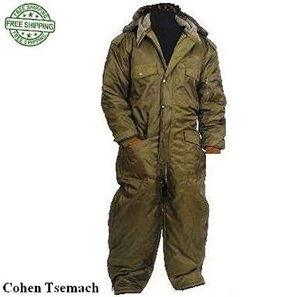 Amazon.com: Coverall IDF hermonit Snowsuit – Traje de esquí ...