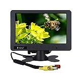 7 inch CCTV Monitor 1024 x 600 Resolution Display Portable 16:9 TFT LCD