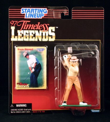 - SAM SNEAD / PGA 1997 TIMELESS LEGENDS Kenner Starting Lineup & Exclusive Collector Trading Card