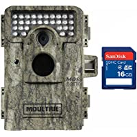 Moultrie M-880 Low Glow IR Trail Game Camera + SD Card (Certified Refurbished)