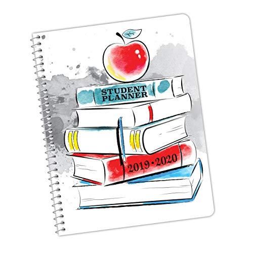 Dated Elementary School Student Planner for Academic Year 2019-2020- Jostens Planner Brand- Sold in Packs of 15. (8-1/2 x 11).