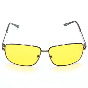 0e8027832e Night Vision Driving HD High Definition Safety Glasses UV Sunglasses Yellow  lens