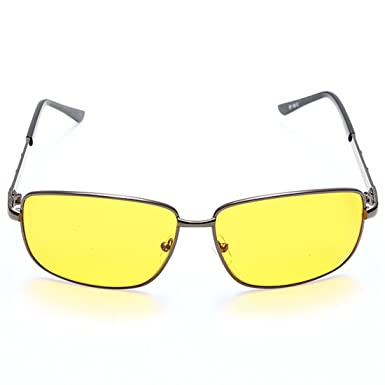 dcfc9a58d6e TOOGOO(R) Night Vision Driving HD High Definition Safety Glasses UV Sunglasses  Yellow lens  Amazon.co.uk  Clothing