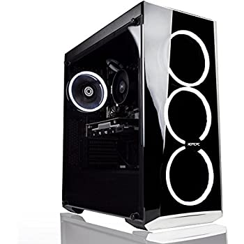 XOTIC PC Essential AMD + Nvidia Gaming Computer Desktop PC - 3.5Ghz Quad Core Ryzen 3 2200G | GeForce GTX 1050 Ti | 16GB DDR4 | 250GB SSD | 1TB HDD ...