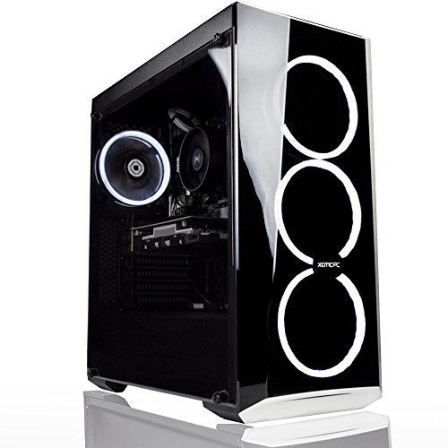 XOTIC PC Gamer's Choice AMD + Nvidia Gaming Computer Desktop PC - 3.5Ghz Quad Core Ryzen 3 2200G | GeForce GTX 1050 | 16GB DDR4 | 250GB SSD | 1TB HDD | Windows 10 | 3 Year Parts Warranty