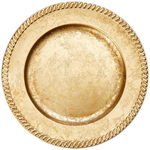 Sousplat Requinte Mimo Style Dourado