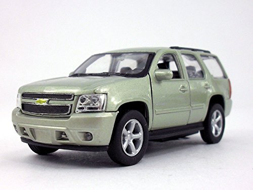 Welly 4.5 Inch Chevy Tahoe Scale Diecast Metal Model - Gold (Tahoe Model Cars)