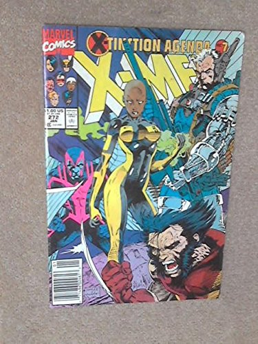Books : The Uncanny X-Men #272 : Captial Crimes (X-Tinction Agenda - Marvel Comics)