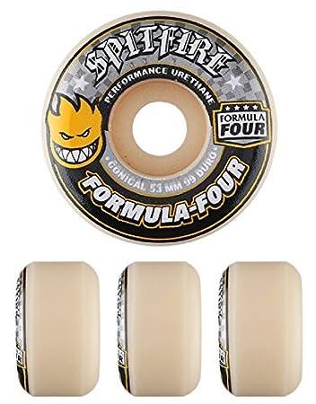 Spitfire Wheels Formula 4 99d Conical Skateboard Wheels
