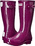 hunter boots british - Hunter Girls' Original Kid Glitter-K, Bright Violet, 3 M US Infant