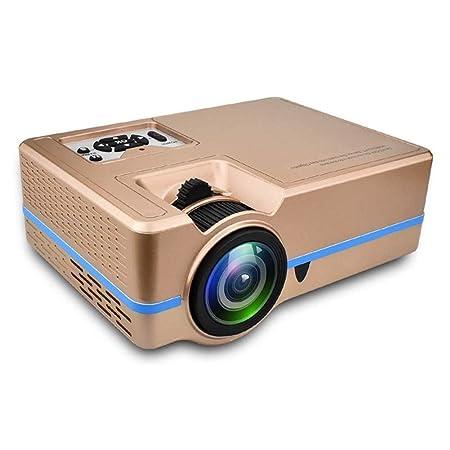 ZXGHS LCD Proyector De Cine En Casa, Mini Portátil De Zoom del ...