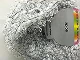 Celebi Purpur Silver White Black Sparkly Ringlet & Nub Novelty Ribbon Yarn 50gr
