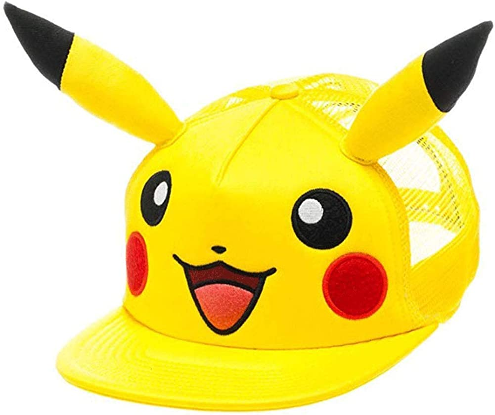 Girls//Boys Pokemon Go Pikatchu Beanie Hats Huge Variety to Choose from