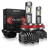 H11/H8/H9 LED Headlight Bulbs 12,000 Lumen High Power 6000K SEALIGHT S3 Upgraded Series 3 Yr Warranty