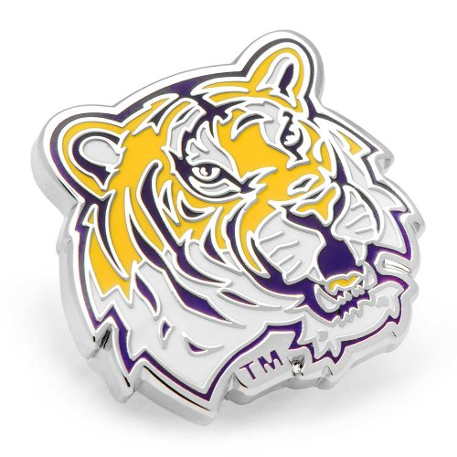 NCAA LSU Tigers Lapel Pin, Officially Licensed