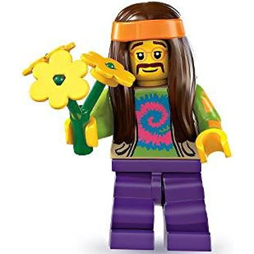 Lego Series 7 Hippie Mini Figure Lovely