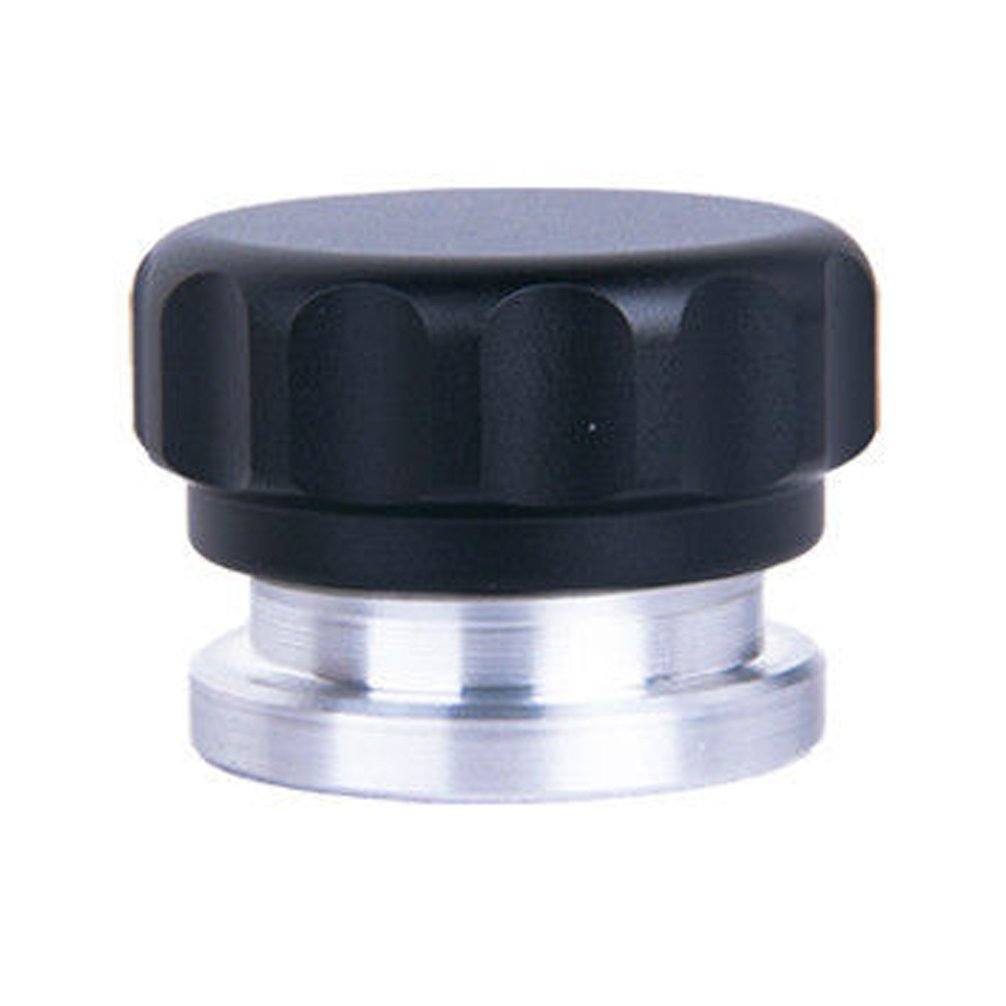 HiwowSport Aluminium Alloy Fuel Cap Weld On Filler Neck And Oil Tank Cap (1inch, Black) by HiwowSport