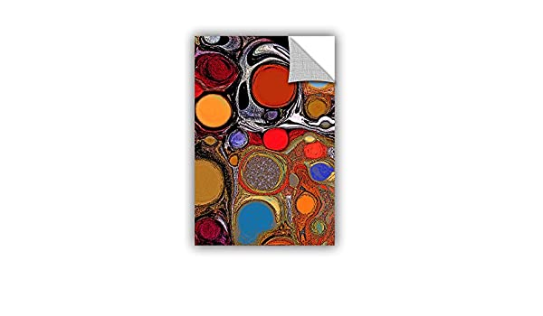 ArtWall Linda Parkers Glass Bubbles 1 Removable Wall Art Mural 16 x 24